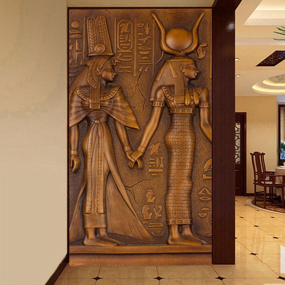 Tranh tường nổi cao cấp - Mang đậm phong cách Ai Cập cổ đại